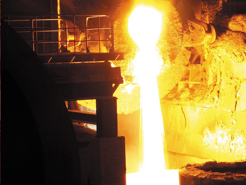 煉鋼生產現場