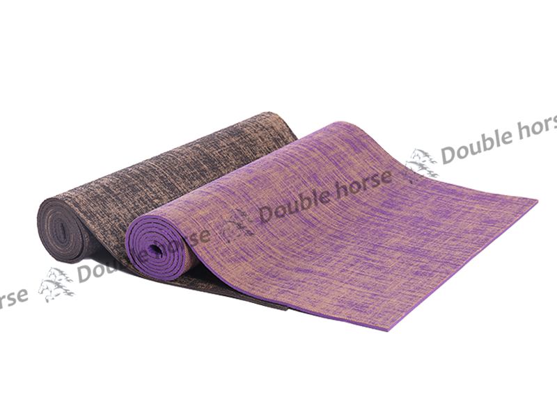 PVC亞麻瑜伽墊