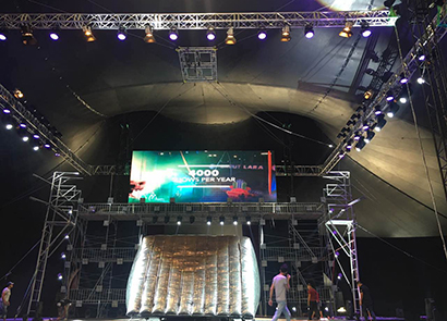 60SQM P5 Indoor Fixed Led Screen In Turkey