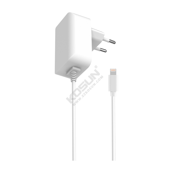 12W MFi Lightning European Wall Charger