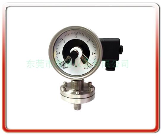 防爆感應隔膜式電接點壓力表