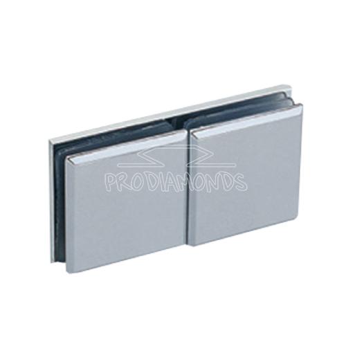 180 Degree glass to glass shower door clip