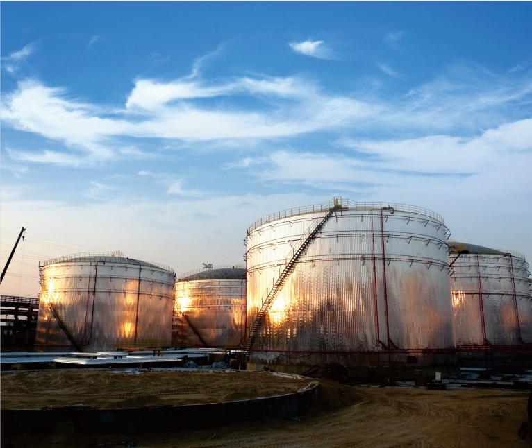漳州市古雷海騰碼頭液體化工罐區工程