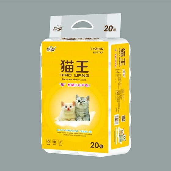 貓王平紋2.4公斤20卷