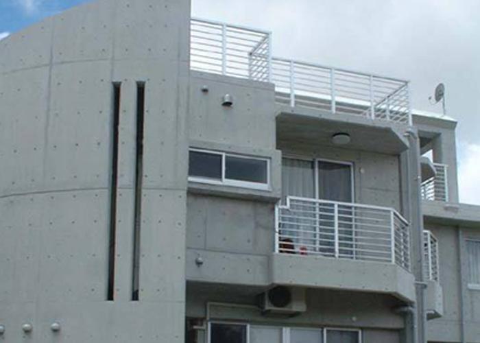 仿清水混凝土防護