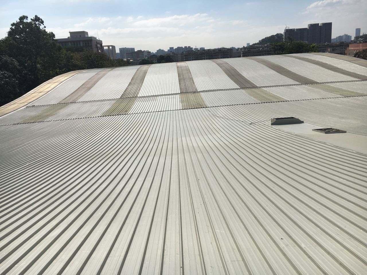 屋面翻新成品