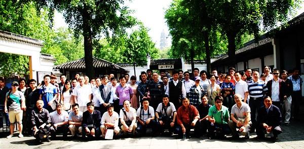 2012年員工蘇州旅游