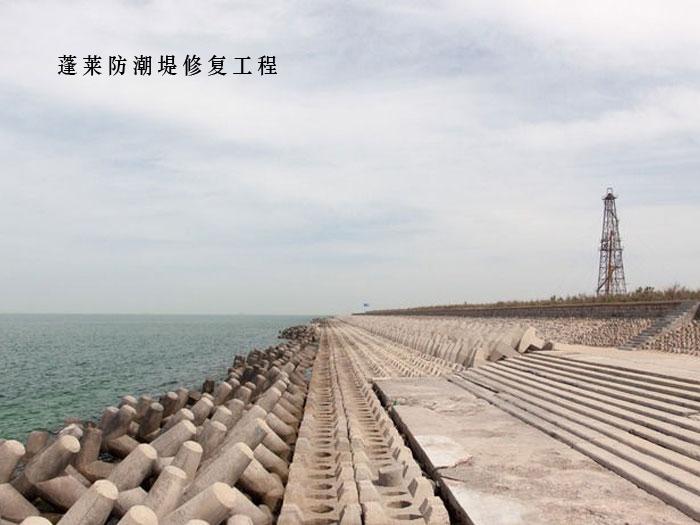 蓬萊防潮堤修復工程