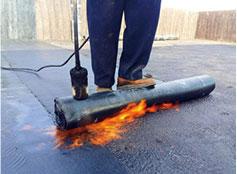 彈性體1塑性體改性瀝青防水巷材3