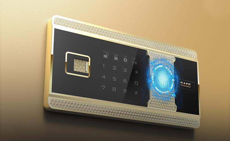 全新升级半导体指纹识别技术,识别速度更快
