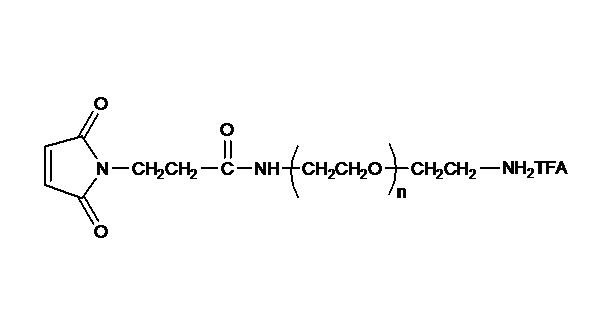 Maleimide PEG Amine, TFA Salt
