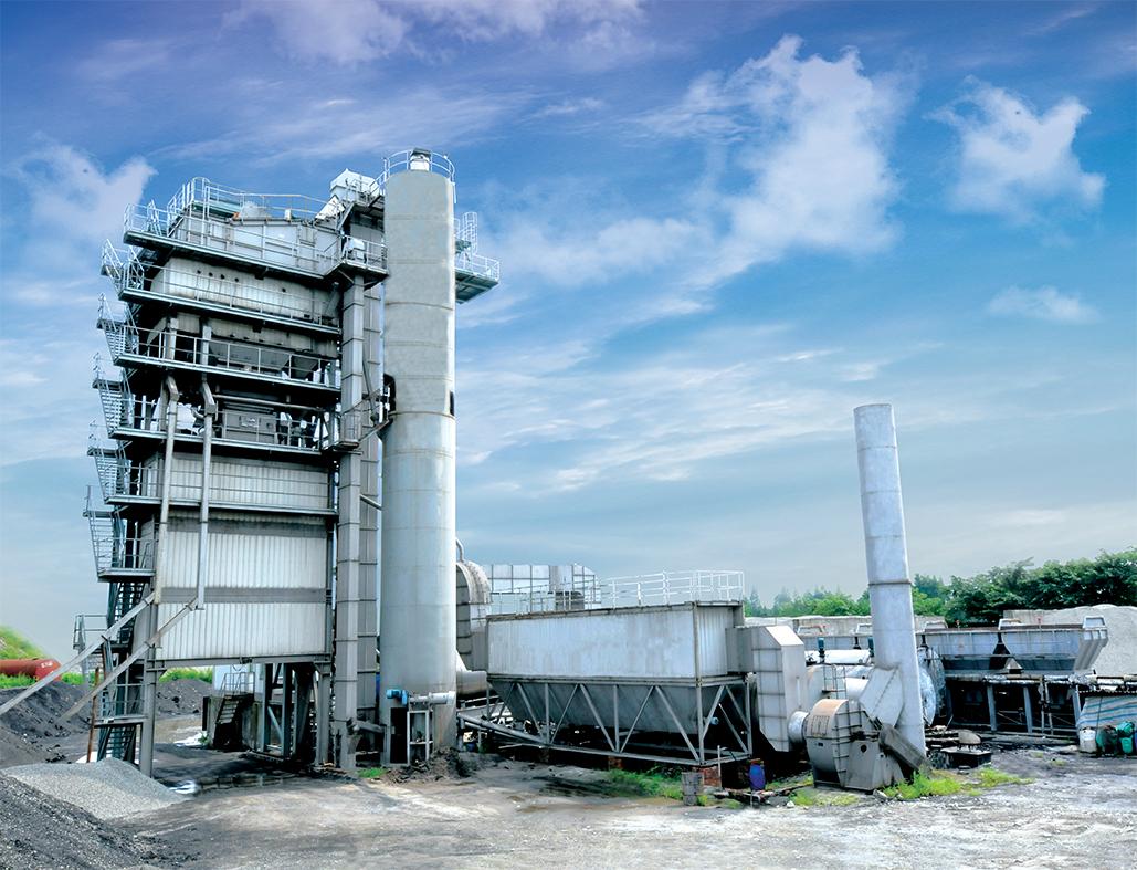 LBD成品料仓底置式沥青搅拌设备