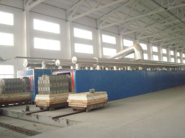 85.8米耐火材料隧道窯