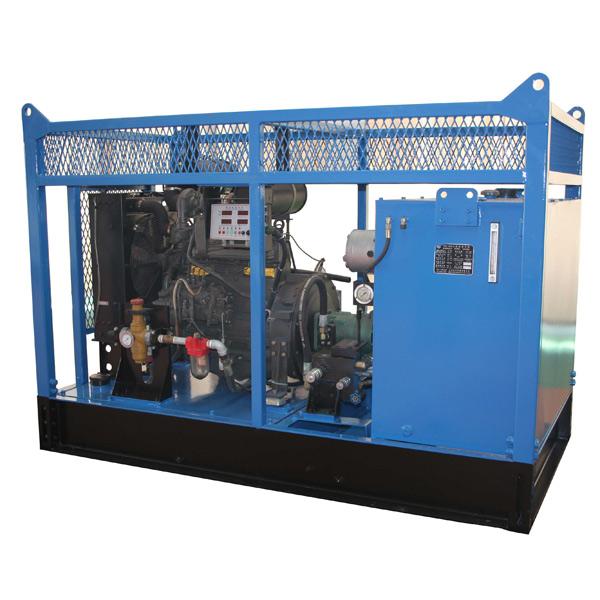 YZC-120Ⅱ hydraulic power unit(diesel engine)