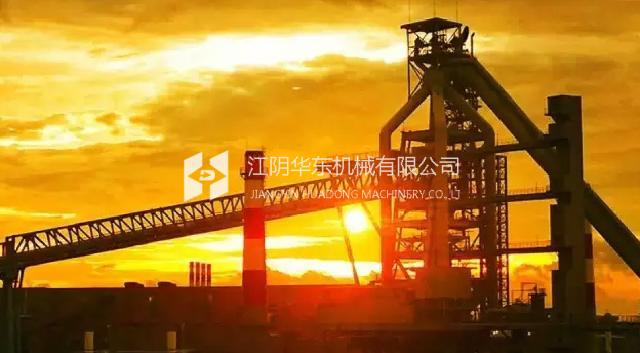 Baosteel blast furnace project