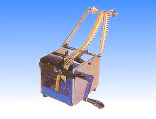 HAND-OPERATED BELT TYPE SINGLE SIDE PARTS CUTTING MACHINE
