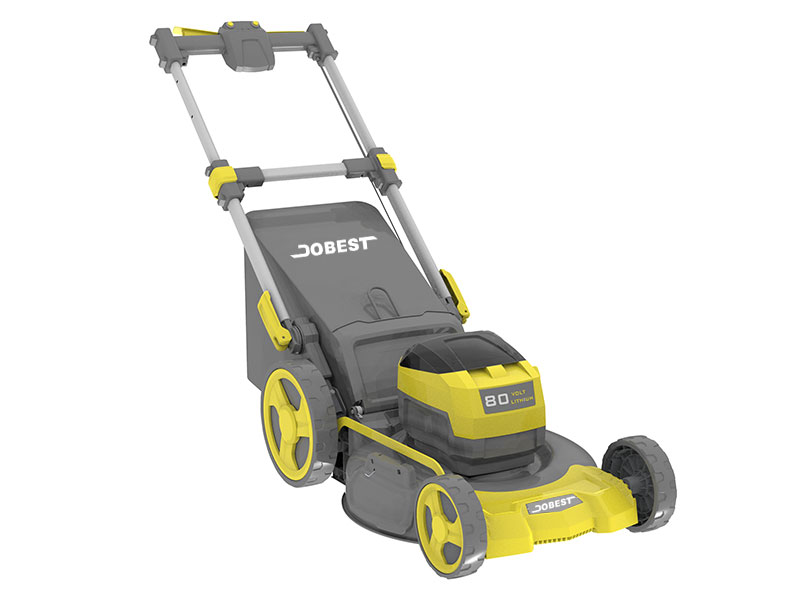 "DC- 22"" Cordless 80V Self-Propelled Lawn Mower"