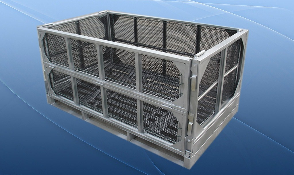 Foldable Mesh Box