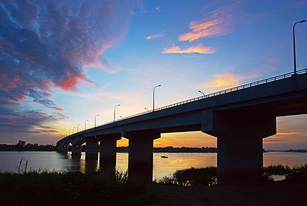 柬埔寨巴薩河大橋