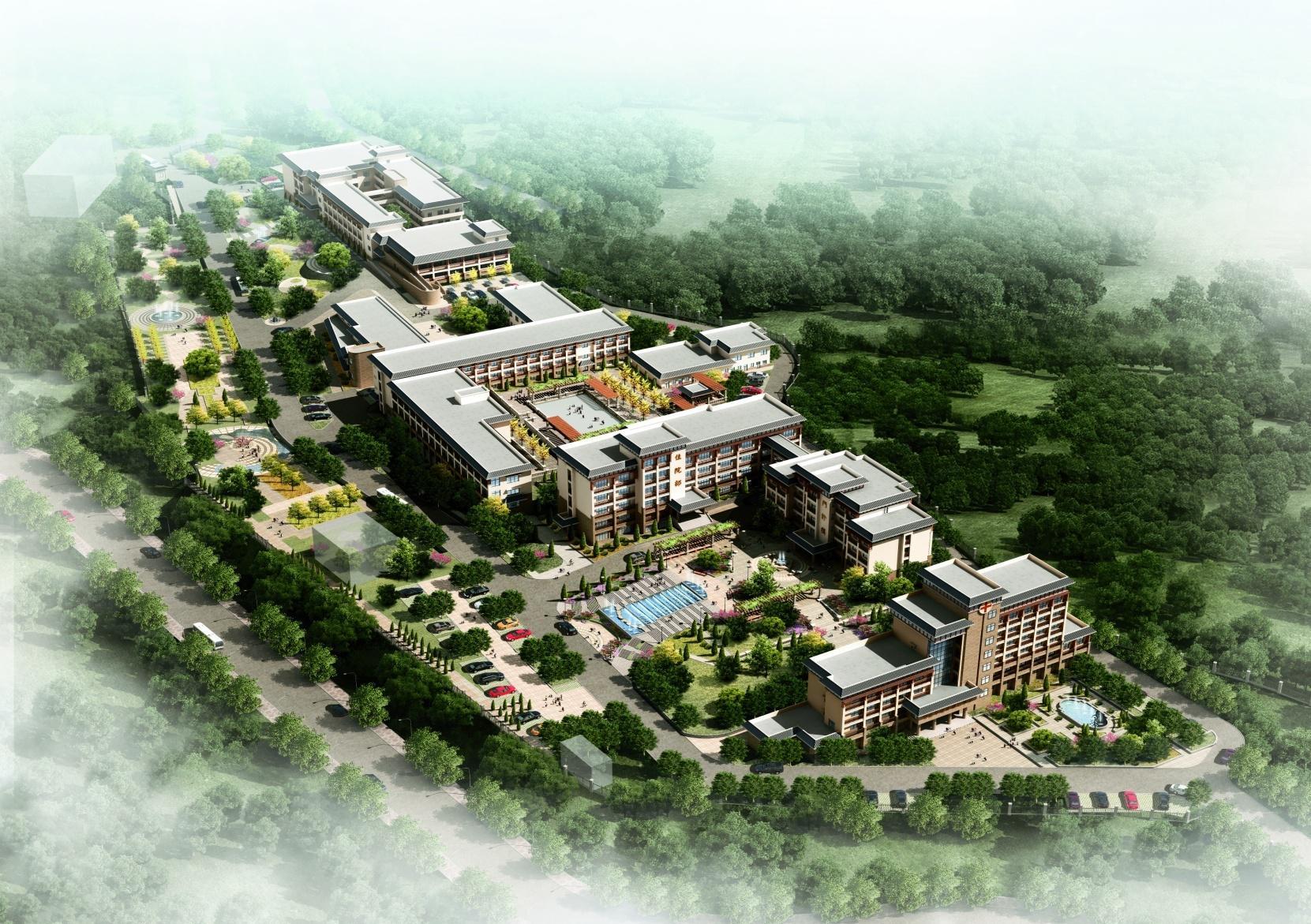 重庆精神卫生中心精神康复中心外立面改造项目