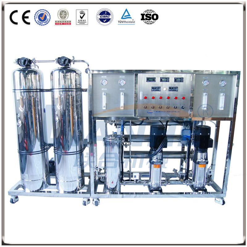 500L/h二级反渗透水处理(不锈钢双柱)