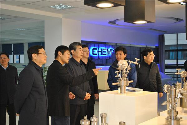 2019年1月1日,省委常委、常務副省長鄧向陽一行蒞臨科冪儀器調研。