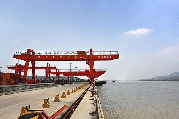 杭州東洲港碼頭