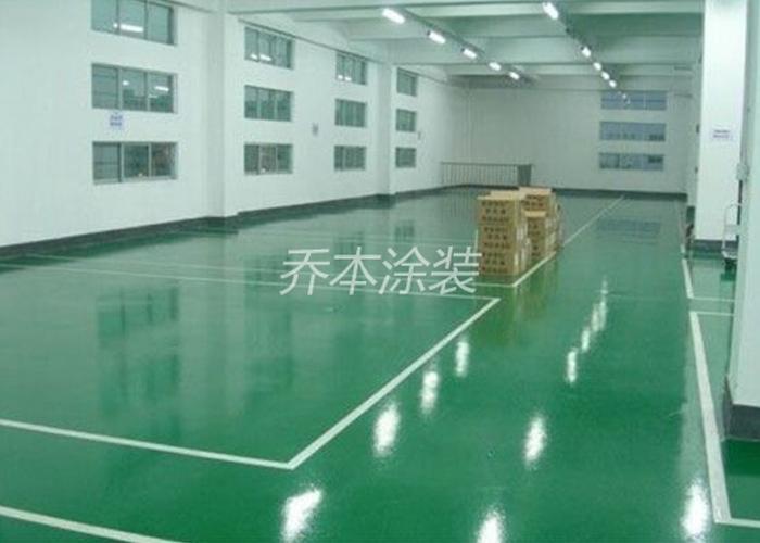環氧樹脂靜電地坪系統