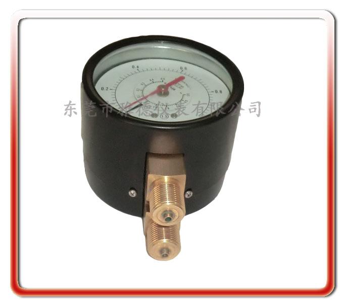 100MM雙針雙管差壓表
