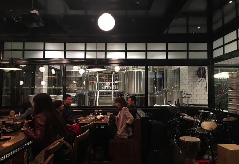 2016年4月 深圳TAPS 1200L精釀啤酒酒吧交鑰匙工程完成安裝
