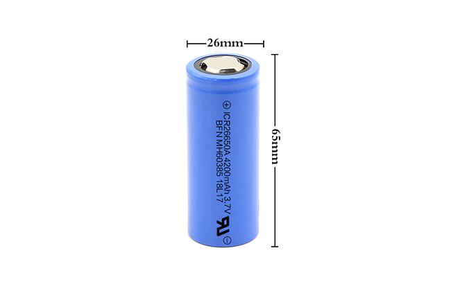 BFN 中倍率电池/扭扭车电池 26650 4200mAh 3.7V