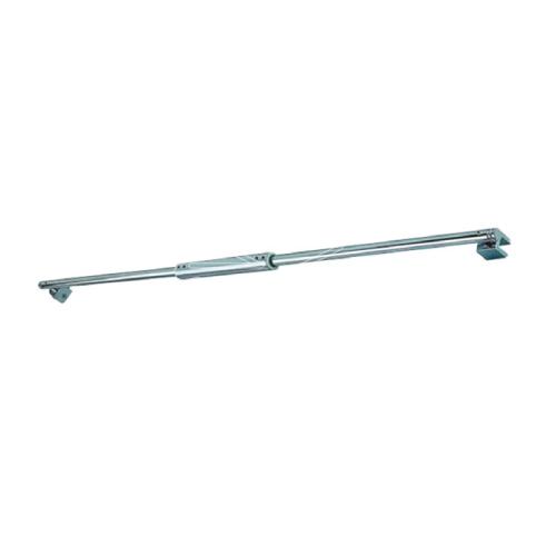Width adjustable shower support arm