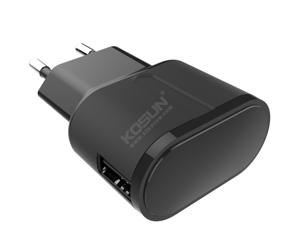 5W/12W Single USB Port European Wall Charger
