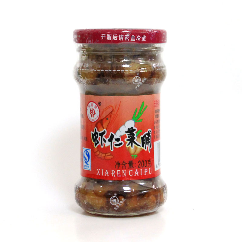 蝦仁菜脯(200克)