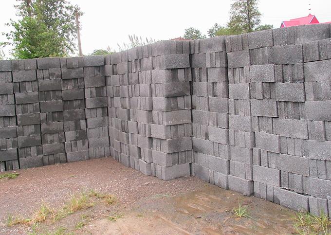 陶粒砌塊堆場