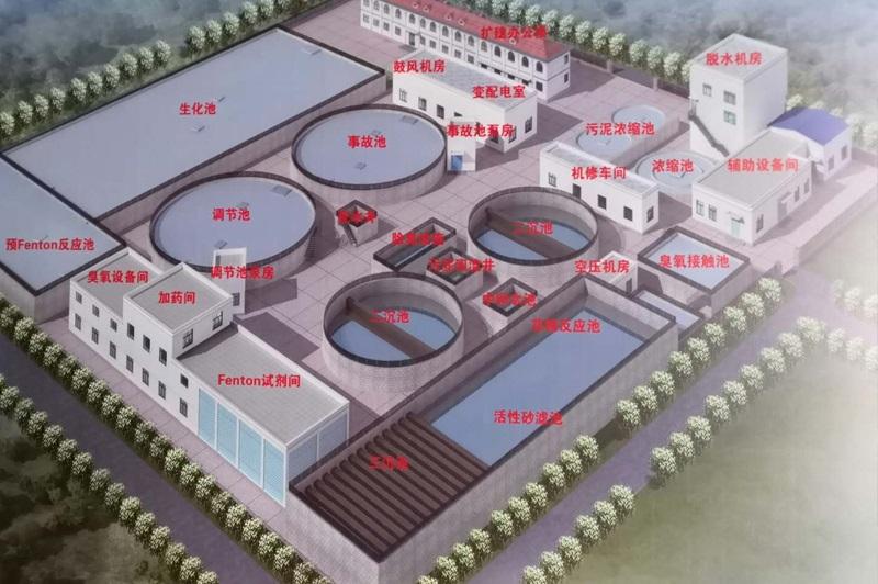 蓬莱市北沟镇20000吨/天工业污水厂二期建设工程