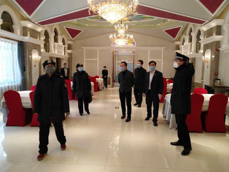2020年2月10日,北京市復工第一天,通州區市場監督管理局疫情防護檢查,玉林通州店全部滿分!