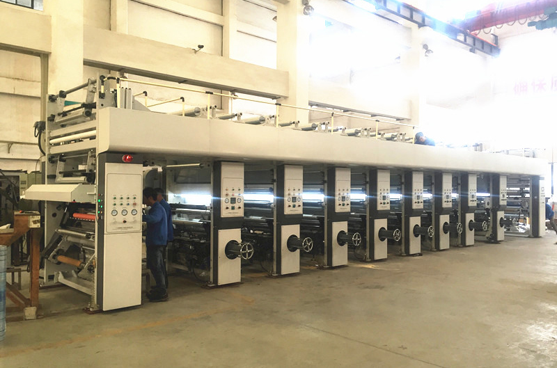 DLY系列電子軸凹版印刷機