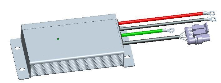 電動汽車絕緣監測控制器