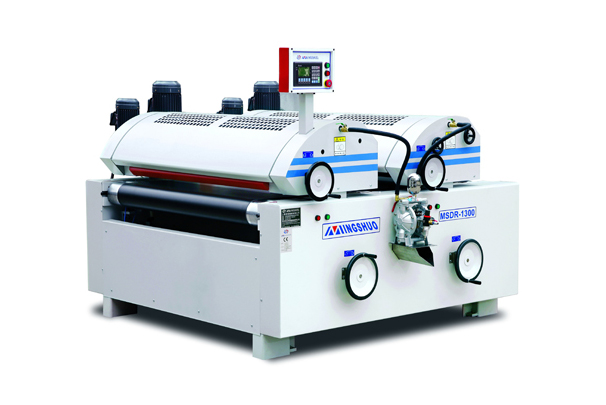 Full precision double roll coating machine