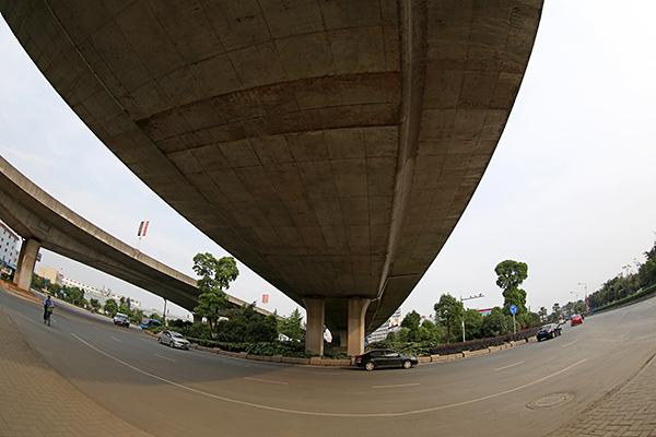 温州瓯海大道永梅高架工程