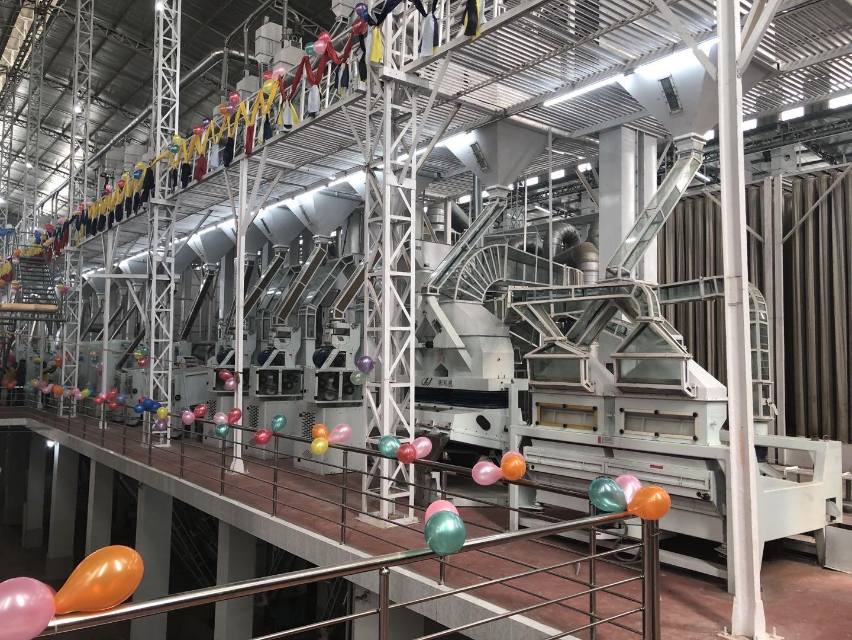 我公司承建的孟加拉國最大米廠——boishakhi group日處理稻谷2000噸成套工程
