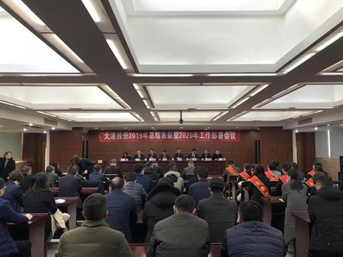 公司召開2019年總結表彰暨2020年工作部署會議