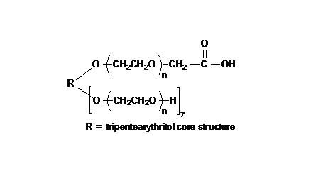 8arm PEG (tripentaerythritol), 7arm-Hydroxyl, 1arm-Carboxyl