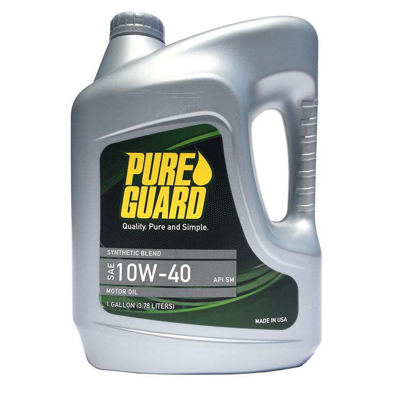 美国欧姆尼纯嘉保经济型汽机油 10W-40 SM/CF 3.78L 美国原瓶原装进口PureGuard帕加德润滑油