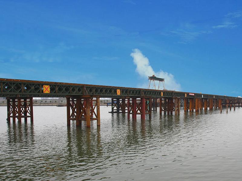 宁波姚江大桥栈桥