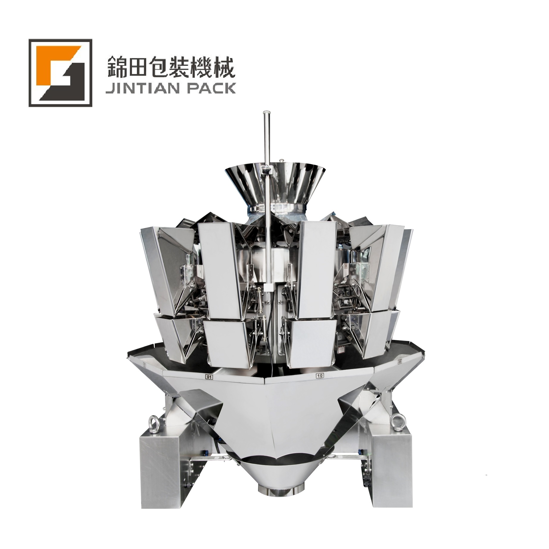 JT-10 10 heads weigher
