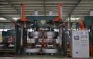 機械平移式輪胎硫化機-雙模