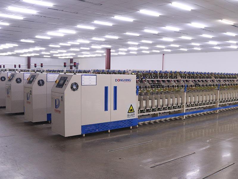 帶數顯功能的倍捻設備,實時顯示生產情況,大大提升生產效率和質量水平。