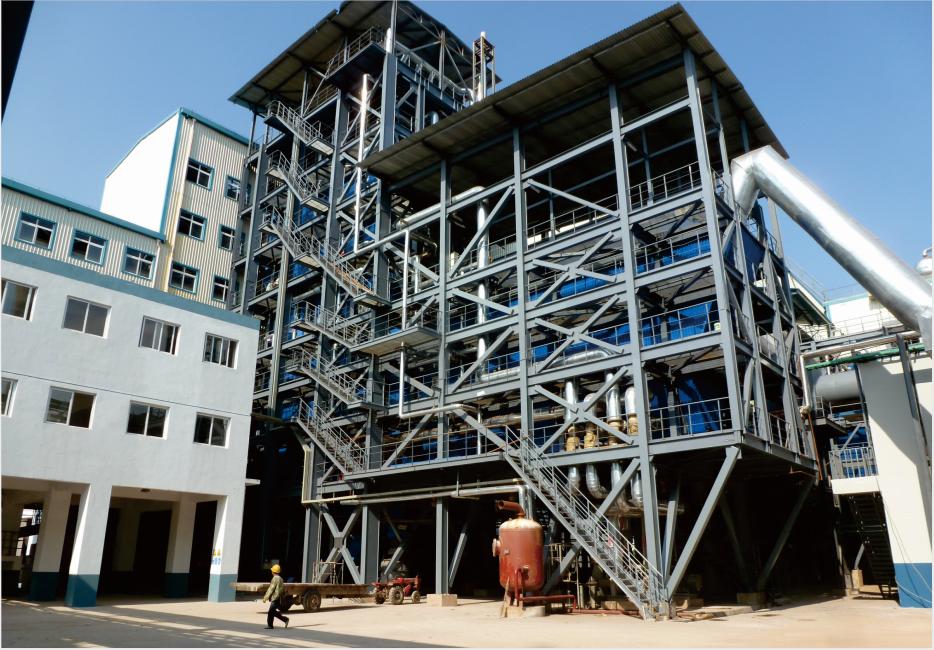 四川省康西銅業責任有限公司環保節能粗銅工程